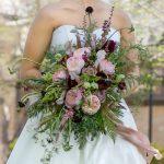 Constance garden roses, bridal bouquet, garden style bouquet