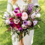 Bridal bouquet, pink wedding bouquet