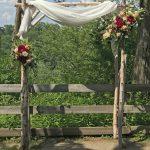 Birch Arbor, wedding arbor