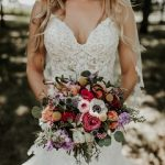 wedding bouquet, summer wedding bouquet, bright colored bridal bouquet
