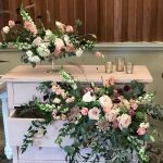 wedding flowers, wedding decor, reception decor
