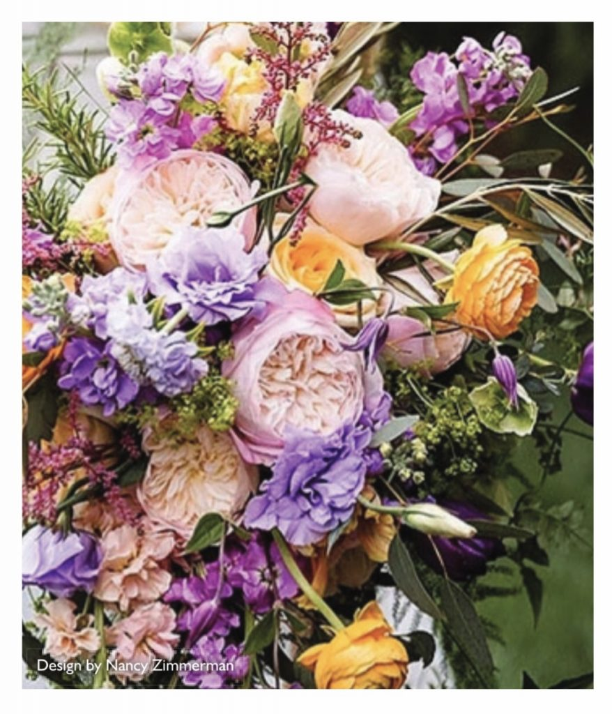 Alexandra Farm Garden Rose Contest - 2nd place winner Nancy Zimmerman.