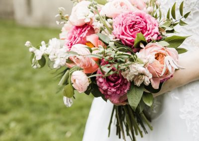 Coral & Pink Bouquet