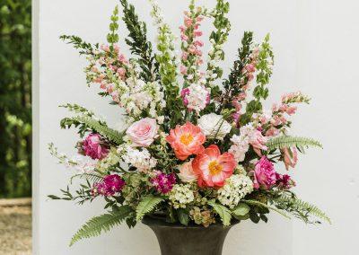 Wedding Floral Urn