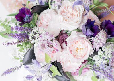 Keira Garden rose bouquet