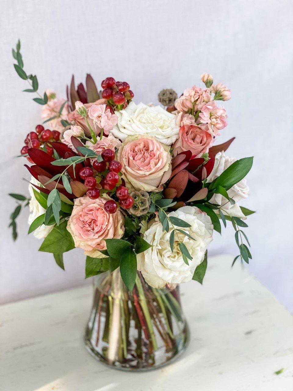 Spiral Hand-Tied Bouquet Tutorial