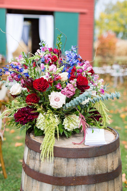 Ceremony Decor, wedding flowers