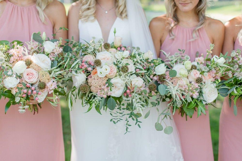 pink wedding palette