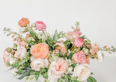 Garden Rose Centerpiece