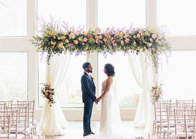 Decorated Chuppah, Chuppah, Wedding chuppah, Floral chuppah