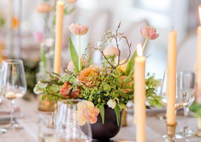 floral centerpiece, wedding flowers, reception table decor